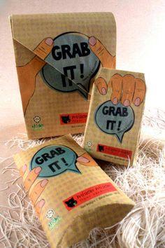 """Miaow Miaow"" flour packaging"