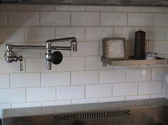 Chicago faucet sink factory Berkeley parts customizable Faucets & Fixtures: Chicago Commercial Faucets: Remodelista Kitchen And Bath, Fixtures, Commercial Faucets, Attic Remodel, Pot Filler Faucet, Kitchen Faucet, Commercial Kitchen Faucet, Remodelista, Pot Filler