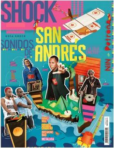 Revista Shock Magazine  www.shock.com.co  (San Andres Colombia)