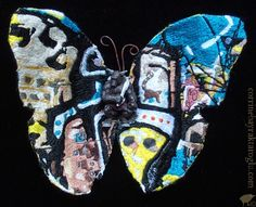 Hand Embroidery Butterfly
