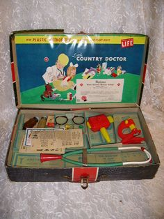 Vintage Dated 1949 Little Country Doctor