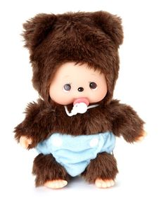 Take a look at this Bear Friend Bebichhichi Plush Toy by Monchhichi on #zulily today!