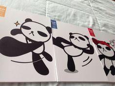 #Libretas  Panda series <3