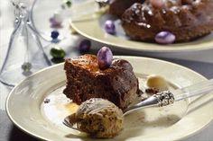Recept voor een chocoladetaart voor Pasen