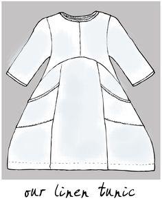 Style Snapshot – Linen Tunics | Blue Fish Blog