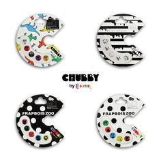CHUBBY by colorctors  logo package design