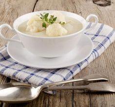 Květáková polévka jako od babičky