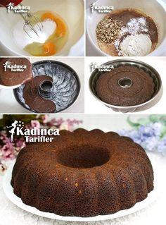 Toz Pudingli Kek Tarifi Turkish Recipes, Pudding Cake, Pudding Recipe, Food To Make, Tiramisu, Doughnuts, Cake Recipes, Muffins, Cookie