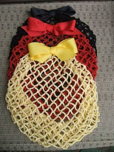 The 1940's Style Snood...they have great videos of how to style victory rolls and other vintage styles.