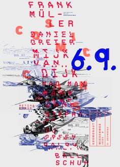 Affiche typographique ar Patrick Dreier