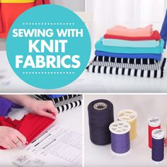 Sewing with stretch knit fabrics can be a bit tricky, but we can help! Watch this video tutorial to help you learn how to sew knits including choosing the right fabric, thread, needle, and stitch.