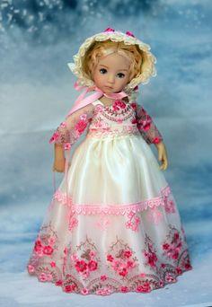 "SOLD ""Garden of Bliss"" Regency Dress, Outfit, Clothes for 13"" Effner Little Darling #DiannaEffner"