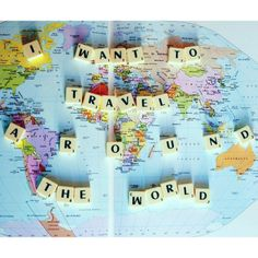 Travel the world. #wanderlust #travel #inspiration