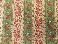 WtW Estate Fabric Vintage Greeff Greenbrook Floral Home Decor Decorator Rare