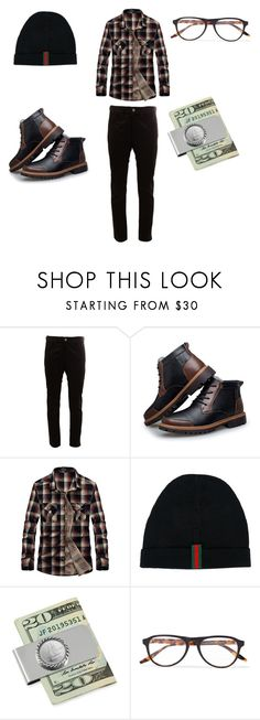 """Cool"" by quasia-taylor on Polyvore featuring Junya Watanabe Comme des Garçons, Gucci, American Coin Treasures, Barton Perreira, men's fashion and menswear"