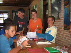 Act as a support role for young kids in Brazil