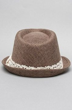 Amazon.com: *Accessories Boutique The Canvas Lace Fedora,Hats for Women: Clothing