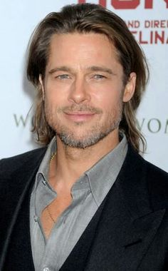 Oh my....this man in World War Z. He's getting better with age. So sexy.