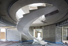 Gallery of See The Engineering Behind This Floating, Award-Winning Stone Helical Stair - 12