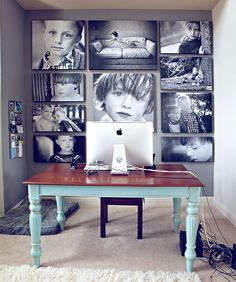 Photography wall