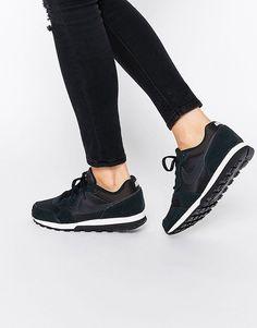 Bild 1 von Nike – MD Runner – Sneakers in Schwarz und Weiß