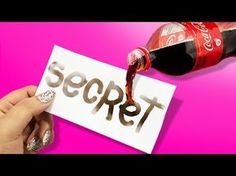 DIY secret ink from coke Coca Cola, Escape Room Diy, Escape The Classroom, 3d Puzzel, Detective Party, Breakout Boxes, Escape Room Puzzles, Activities For Kids, Crafts For Kids