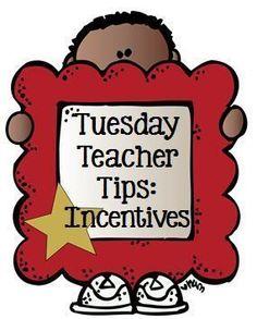 Tuesday Teacher Tips: Incentives Tips Plus a Teacher #Freebie