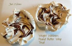 Weight Watchers Peanut Butter Whip Frozen Treats! 1 Point Pb2 Recipes, Skinny Recipes, Healthy Recipes, Vitamix Recipes, Baking Recipes, Healthy Sweets, Healthy Cooking, Healthy Snacks, Healthy Eating