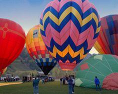 Hot Air Balloon Festival, Telluride, CO TellurideResortLodging.com