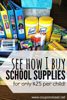 5 tips to save on school supplies. See how I saved on my back to school list shopping the best back to school deals and back to school sales. School Supplies Highschool, Back To School Supplies, Kindergarten School Supplies, School Supplies Coupons, Online School Supplies, Back To School List, Back To School Hacks, School School, School Items