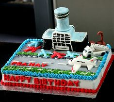Airport Themed Cake