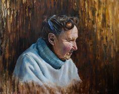 """ Joanna "" Oils on board Wildlife Art, Dreadlocks, Paintings, Hair Styles, Board, Beauty, Hair Plait Styles, Paint, Painting Art"