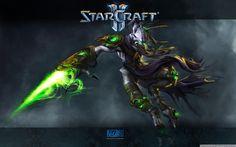 Zeratul Starcraft HD desktop wallpaper Widescreen High