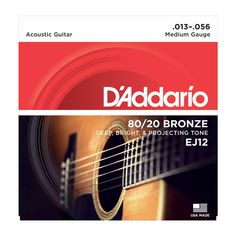 D'Addario Bronze Acoustic Guitar Strings, Medium, Bronze Acoustic Guitar Strings are sometimes referred to as Brass strings. Bronze strings are known for their crisp bright tone, and are popular with stage and studio professionals. Acoustic Guitar Notes, Acoustic Guitar Strings, Acoustic Guitars, Guitar Chords, Bronze, Piano, Learn Singing, Singing Tips, Singing Lessons