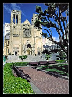 Grace Cathedral - San Francisco by sjb4photos