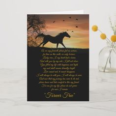 Shop Horse Sympathy Card, Loss of Horse Spiritual Poem Card created by horsesympathy. Sympathy Poems, Sympathy Cards, Horse Gifts, Gifts For Horse Lovers, Lovers Gift, Spiritual Poems, Free Poems, Horse Cards, Memorial Cards