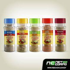 Tempero pronto, totalmente sem sal e à base de especiarias e pimentas cuidadosamente selecionadas, para ser usada em todas as receitas.