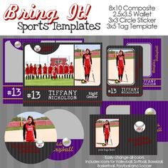 Bring It Sports Templates Baseball Pictures Photos