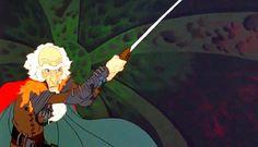 Christopher Lee in The Last Unicorn The Last Unicorn, Drawing Ideas, Childhood, Princess Zelda, Cartoon, Film, Tv, Drawings, Disney