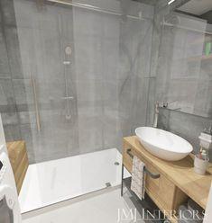 kafle beton, szara łazienka Cad 2d, Laundry In Bathroom, Malaga, Bathroom Inspiration, Bathtub, House Design, Interior Design, Furniture, Home Decor