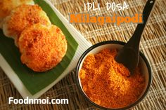 How to make Idli podi | Spicy chutney powder for south Indian tiffin Recipe with precise measurements and clear step by step pictures.