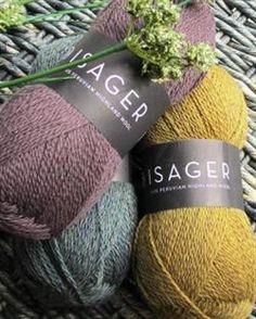 Highland Wool in Sommerfuglen