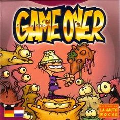 Game Over | Board Game - Could be a good kids game to play with T.