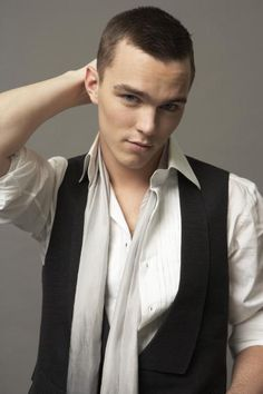 Nicholas Hoult....this looks too much like a guy friend of mine!