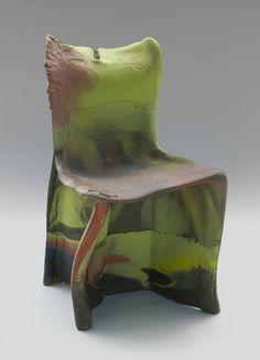 Pratt Chair (no. 3)-1984  Gaetano Pesce (Italian, born 1939)