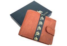 Prime Hide Chelan Collection Mens Tan Leather Wallet 5002