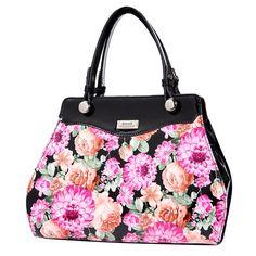 Serenade - Chelsea Classic Leather Handbag with Short Handle Classy Women e588da13f92ce