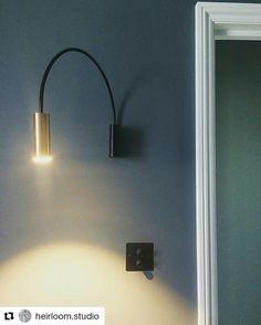 Volta is nominated for #bestofyear award by Interior Design Magazine  #Repost @heirloom.studio with @repostapp ・・・ Volta love ❤️ #voltaA3530 #brass #led #ledlights #lighting #light #walllight #estiluz #studio28lighting #paintandpaperlibrary #heirloom #heirloomstudio #contemporarylighting #interior #interiors #interiordesign #interiorarchitecture #eclecticinterior