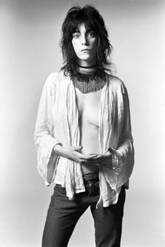 Patti Smith (1946) - American singer-songwriter, poet and visual artist. Photo Norman Seeff, 1969