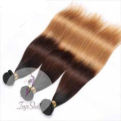 Brazilian Straight Ombre Human Hair Weaves Price: 51.48 & FREE Shipping #hashtag4 Brazilian Weave, Brazilian Hair, Hair Weaves, Hair Weft, Weave Hairstyles, Straight Hairstyles, Fashion Sewing, Remy Hair, 100 Human Hair